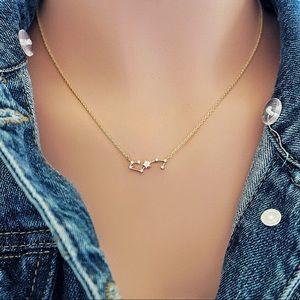 Scorpio Gold Dainty Pendant Zodiac Dainty Necklace